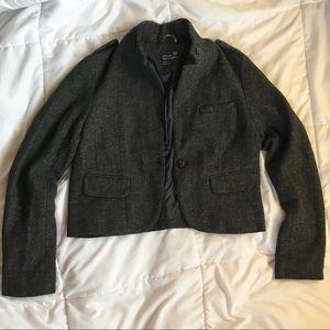 Gray Blazer Jacket by American Eagle